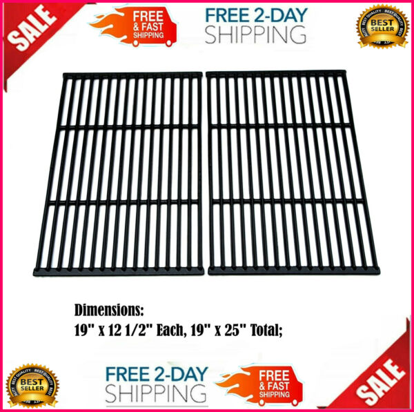 Cooking Grates 19quot; x 12quot; for Charbroil Brinkmann Broil Mate Charmglow Grill Chef