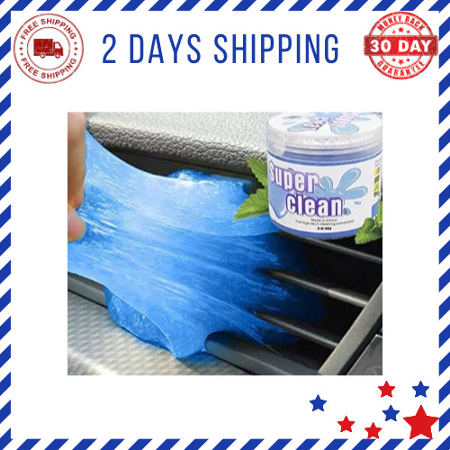 Cleaning Gel 160G Dust Cleaning Mud for Car Car Accessories Keyboard Printers