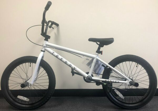 Modern Trendy 20quot; BMX Bicycle Freestyle Bike 1 Piece Crank White NEW 2020 $229.00