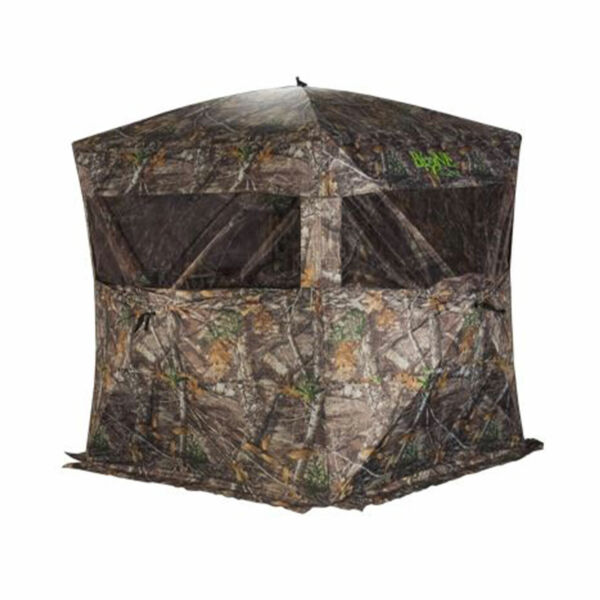 Rhino Blinds R150 BC RTE Bone Collector RealTree Edge 3 Person Hunting Blind