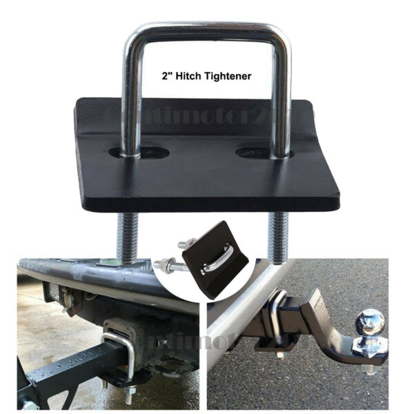 2quot; Hitch Mount Cargo Carrier Anti Rattle Hitch Tightener Stabilizer Towing $10.00