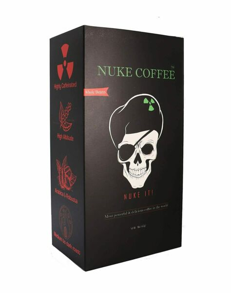 NUKE Ground Coffee Arabica amp; Robusta Strong amp; Most Delicious Coffee In The World