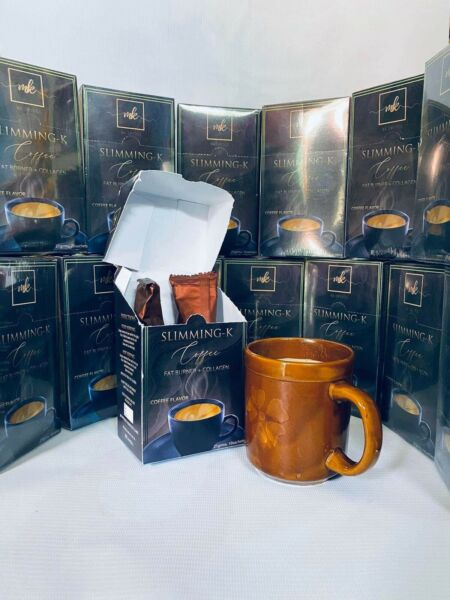 SLIMMING K COFFEE 5 BOXES WITH FREE SHIPPING OR $19 PER BOX WITH $5 SF