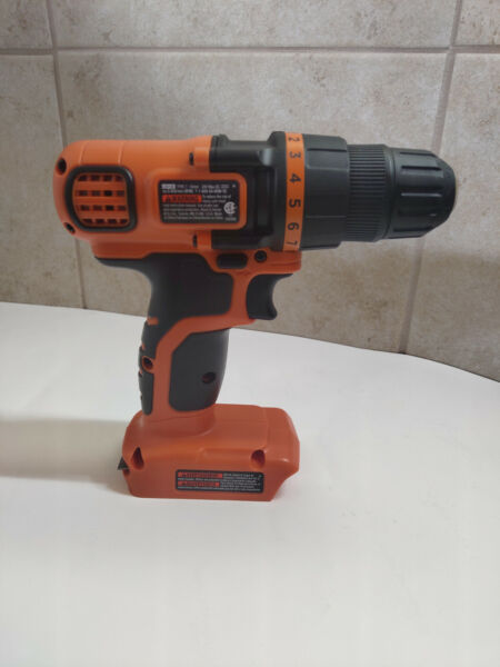 NEW BlackDecker 20V Volt CORDLESS Drill Driver BARE TOOL Only NO Battery LDX120