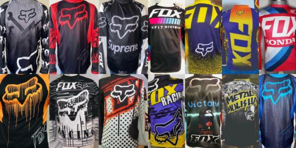 NEW FOX Racing Jersey Long Shirt Men#x27;s Motocross MX ATV BMX MTB Dirt Bike $18.50