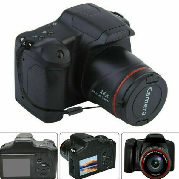 Digital Camera 3 Inch TFT LCD Screen HD 16MP 1080P 16X Zoom Anti shake
