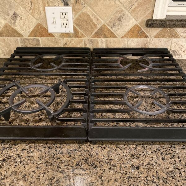 KitchenAid KGSA906PSS02 Cast Iron Stove Grates Sold as left And Right Side