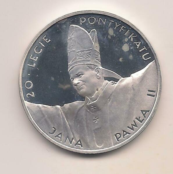 1998 Poland Silver 10 Zloty Coin Fabulous Details