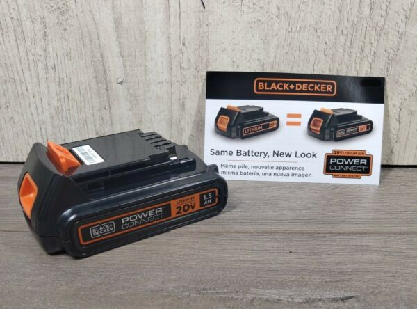 Black Decker 20V Lithium Max 1.5 AH Battery LBXR20 New Genuine Power Connect