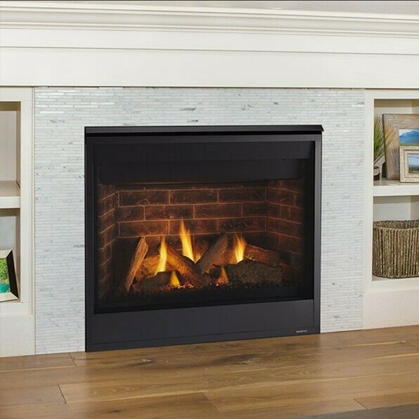 Majestic 36 Inch Quartz Direct Vent Gas Fireplace Brand New with Added Options