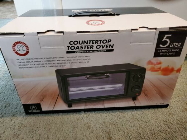 Chef#x27;s Counter Toaster oven