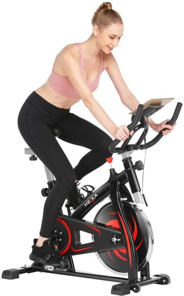 Heka Exercise Bike Indoor Cycling Bike Stationary bike 300lbs Weight Capacity $239.99