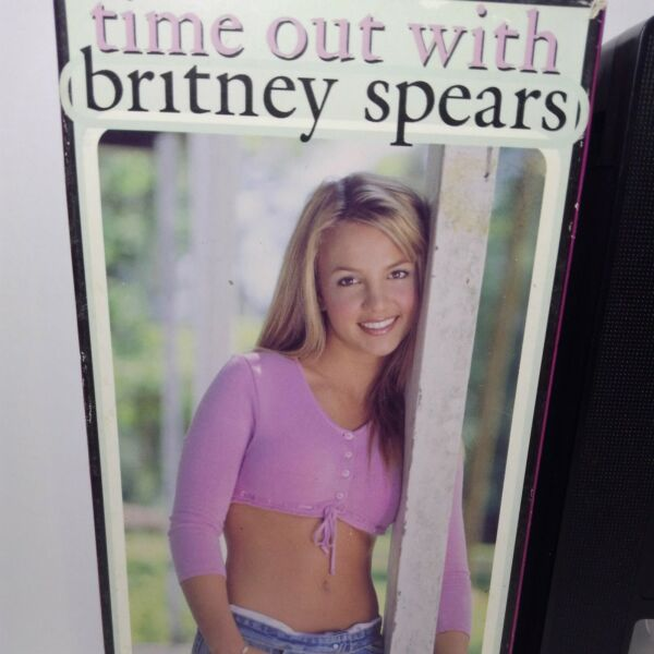 TIME OUT WITH BRITNEY SPEARS VHS JIVE 2K SAMPLER 1999 BNIB