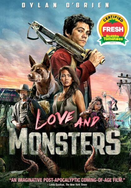 Love and Monsters DVD Dylan O#x27;Brien Brand New Unopened Free Ship $14.95