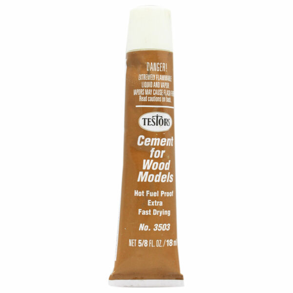 Testor Corp. Wood Cement Extra Fast5 8 oz $2.70