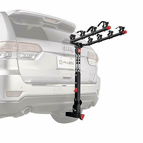 Allen Sports Deluxe Locking Quick Release 4 Bike Carrier for 2 in. Hitch Model $183.70