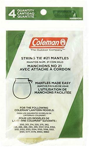 Coleman Tie Style Mantle 4 Pack $4.89