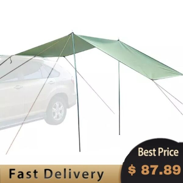 Car Tent Awning Rooftop SUV Truck Camping Travel Shelter Outdoor Sunshade Canopy $87.89
