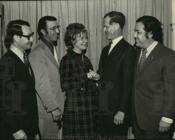 1972 Press Photo New Orleans Chapter of Federal Bar Association officers