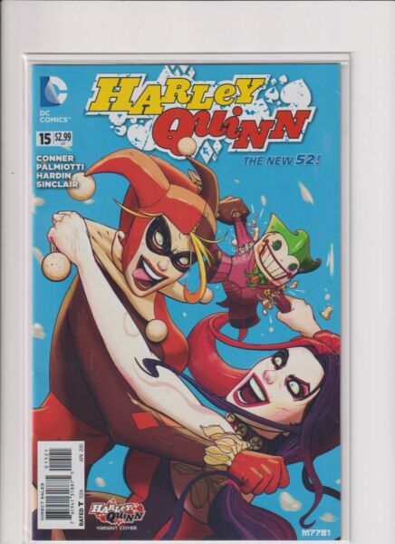 Harley Quinn 15 variant cover DC Comics New 52 series Harley vs Harley cover C $9.99