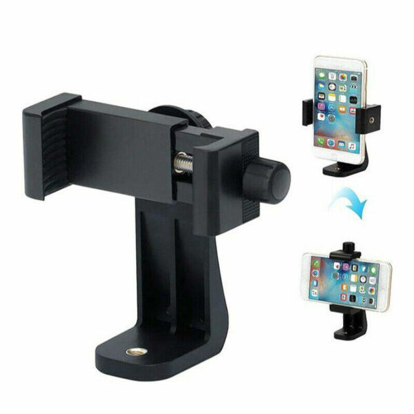Smartphone Tripod Adapter Cell Phone Holder Mount For iPhone Camera Light amp;Small