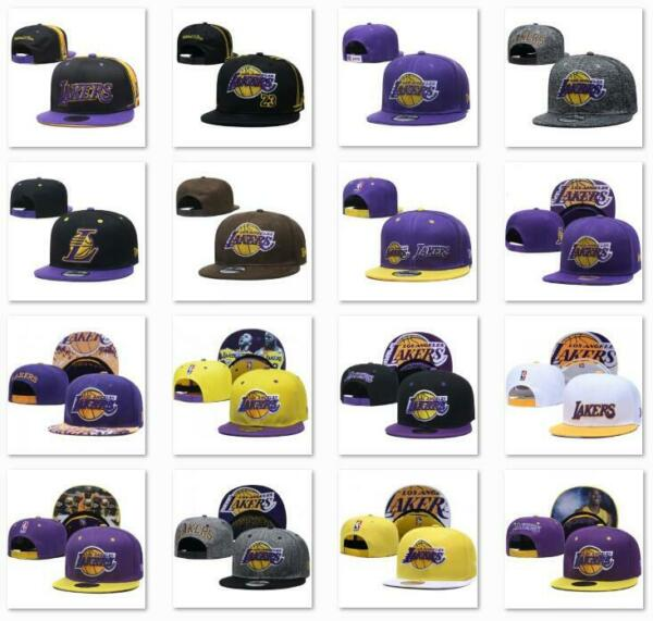 Classic Embroidered NBA Flat Brim Hip Hop Cap Snap back Sports Hat For Unisex $14.99