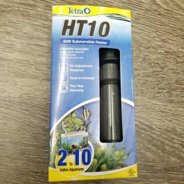 NEW Tetra HT10 Submersible Aquarium Heater 50 Watt $30.00
