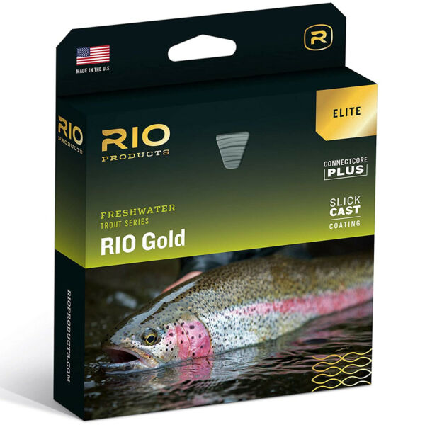 RIO Elite Gold Freshwater Tricolor Ultra Slick Cast Tapered Fly Fishing Line