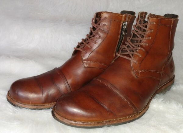 Timberland Earthkeepers 19558 Men#x27;s Sz 9.5 M Original Brown Boots Anti Fatigue $79.97