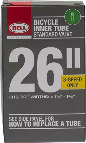 Bell Bike Tubes 26quot;x1 3 8quot; Standard Schrader Valve Bicycle Inner Tubes $7.68