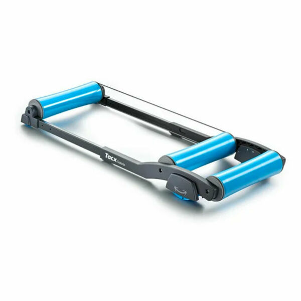 Garmin Tacx Galaxia Exercise Stationary Retractable Bike Trainer Roller Blue $269.99