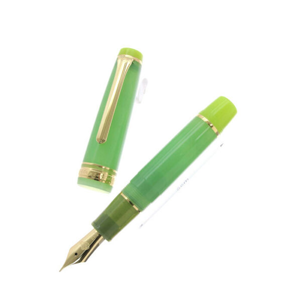Sailor Fountain Pen Professional Gear Mini 21K FishLogo Limited Edition Green