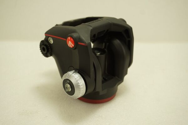 Manfrotto XPRO Video Fluid Head *Missing Quick Plate amp; Extension Handle*