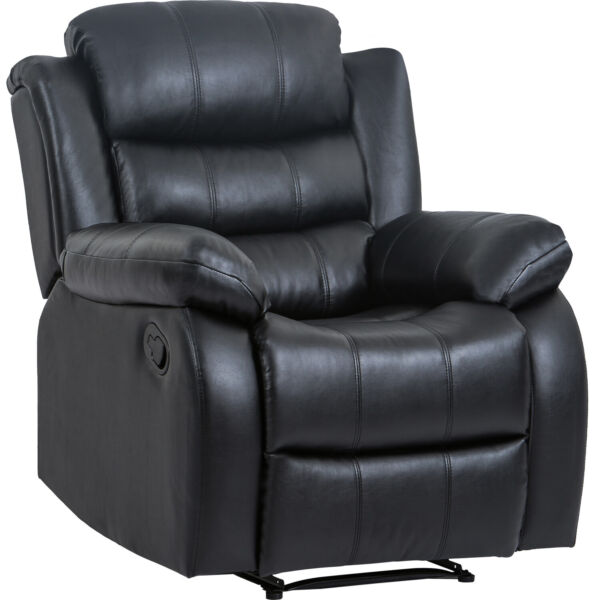 Recliner Chair Reclining Sofa Couch Sofa Leather Home Theater Seating Manual $349.99