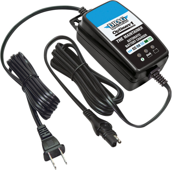 Drag Specialties OptiMate Duo 1 Motorcycle Battery Charger Maintainer for Harley $42.95