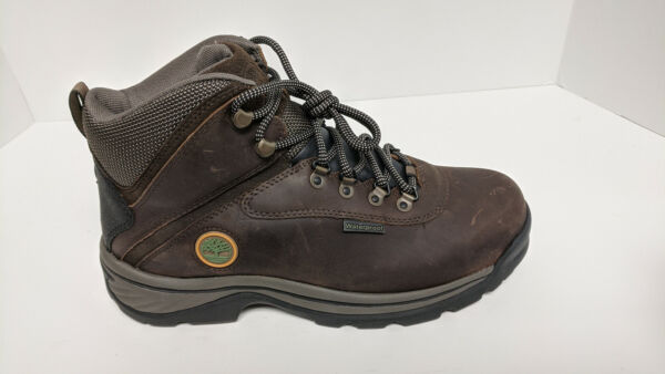 Timberland White Ledge Waterproof Hiking Boots Brown Men#x27;s 9 Wide $72.73