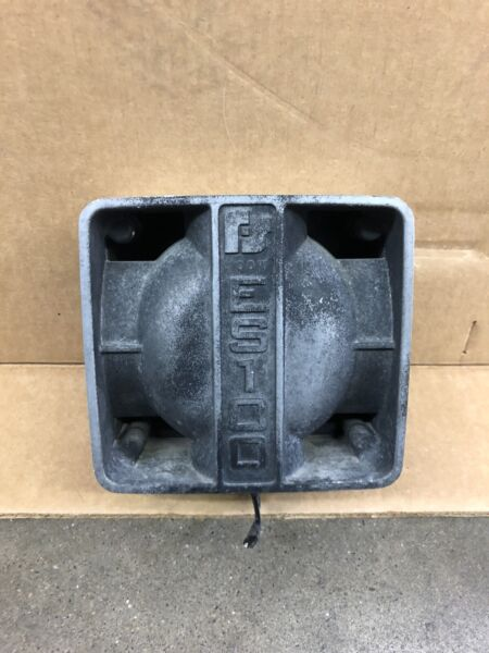 Federal Signal Siren Speaker ES100 11 Ohms 100 Watts DynaMax