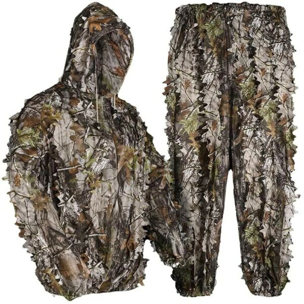3D Hunting Bionic Ghillie Suit Camouflage Sniper Birdwatch Clothing for hunting
