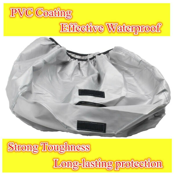 All Weather Protect Silver Polyester Dust Cover for Honda Equipment EU2000i
