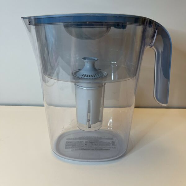 Brita Water Filter Pitcher Lake Model Blue 10 Cup Pre Owned