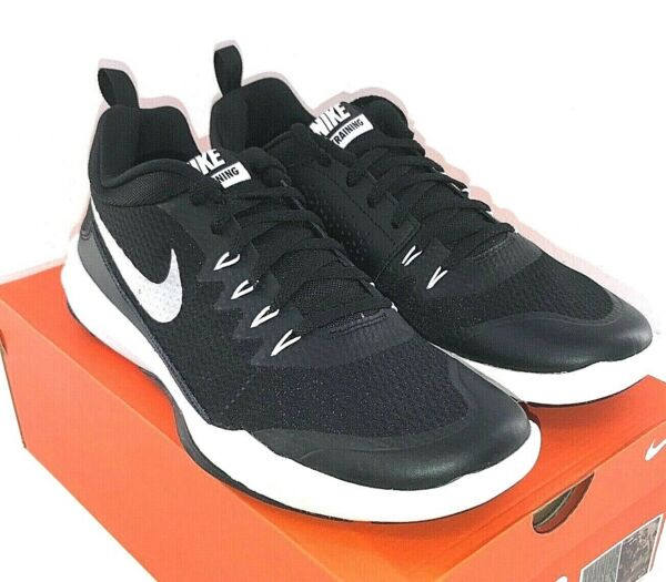 NIKE Legend Trainer Men#x27;s Training Shoe Black White Silver 924206 001
