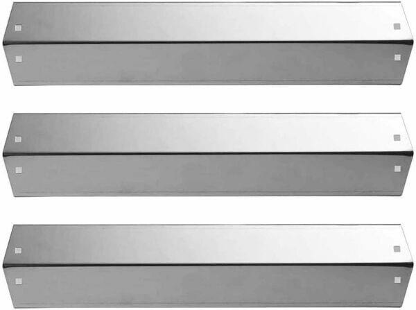 BBQ Grill Replacement Char Griller Parts Stainless Steel Heat Shield 3 Pack