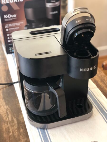 Keurig K Duo Essentials Coffee Maker Single K Cup Pod amp; 12 Cup Brewer Free Ship