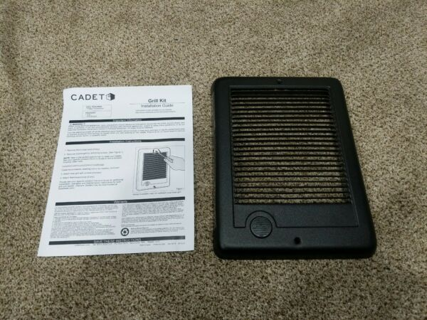 Cadet Replacement Heater Grill BLACK CGW10 67081 $17.99