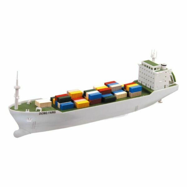 Container Ship Electric Assembly Model 1:500 Scale For Train Layout $39.99