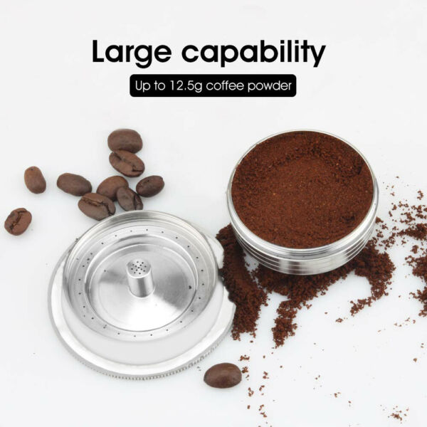 Stainless Reusable Coffee Pod Capsule Cup 230ml For Nespresso Vertuoline ENV135