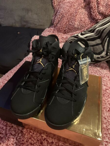 Nike Air Jordan 6s Retros DMP 6s PASS AS DEADSTOCK Sz 10.5 Mens