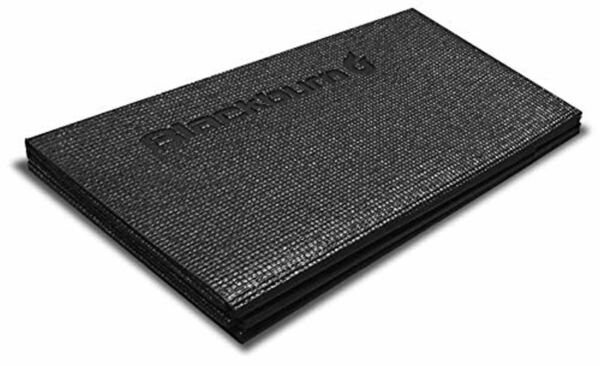 Bike Trainer Folding Floor Mat One Size Black Folds Flat Quiet Consistent Smooth $47.19