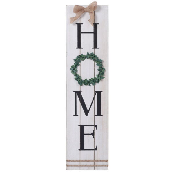Vertical HOME Sign Wooden Wall Sign Home Office House Gift Decoration $42.65
