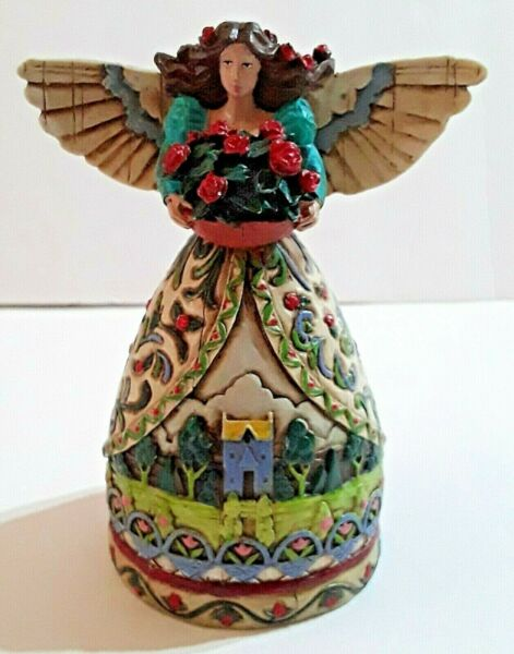 Summer Restores the Soul Angel Small 4.5quot; Resin Jim Shore Heartwood Creek Style $7.99